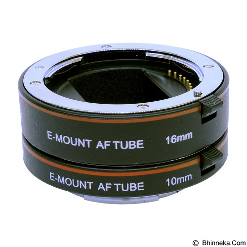 COMMLITE Metal AF Macro Extension Tube E-Mount (Merchant) - Camera Extension Tube and Reversing Ring