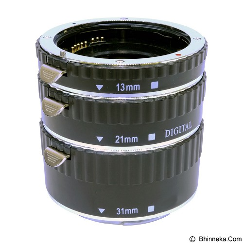 COMMLITE Metal AF Macro Extension Tube Nikon (Merchant) - Camera Extension Tube and Reversing Ring