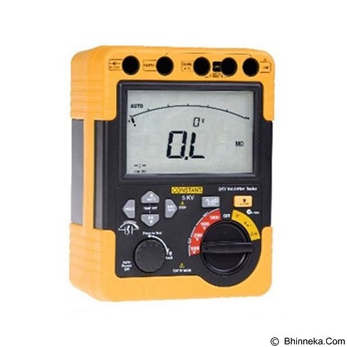CONSTANT Digital High Voltage Insulation Tester [5KV] - Tester Listrik
