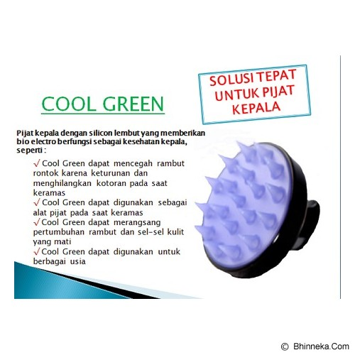 COOL GREEN - Merah - Alat Pijat Elektronik