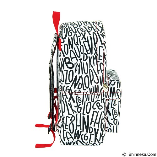 COROLOZI West Pack Letter Backpack [CR612LT] (Merchant) - Backpack Wanita