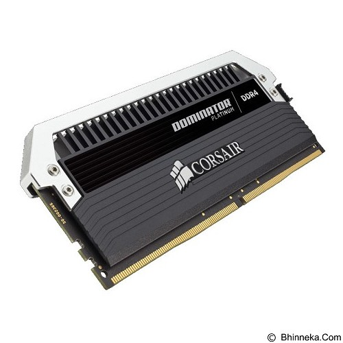 CORSAIR Dominator Platinum Series 2 x 16GB DDR4 PC4-24000 [Dominator Platinum CMD32GX4M2B3000C15] - Black - Memory Desktop DDR4