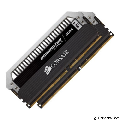 CORSAIR Dominator Platinum Series 2 x 8GB DDR4 PC4-21300 [CMD16GX4M2A2666C15] (Merchant) - Memory Desktop Ddr4