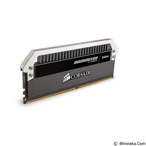 CORSAIR Dominator Platinum Series 4 x 8GB DDR4 PC4-21300 [Dominator Platinum CMD32GX4M4A2666C15] - Black - Memory Desktop Ddr4