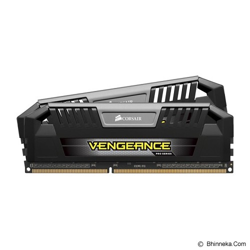 CORSAIR Memory PC 2 x 4GB DDR3 PC3-12800 [Vengeance Pro CMY8GX3M2A1600C9] - Black - Memory Desktop Ddr3