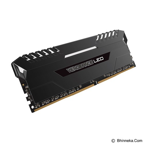 CORSAIR Memory PC 2 x 16 DDR4 DRAM PC4-25600 [Vengeance LED CMU32GX4M2C3200C16] - White - Memory Desktop Ddr4