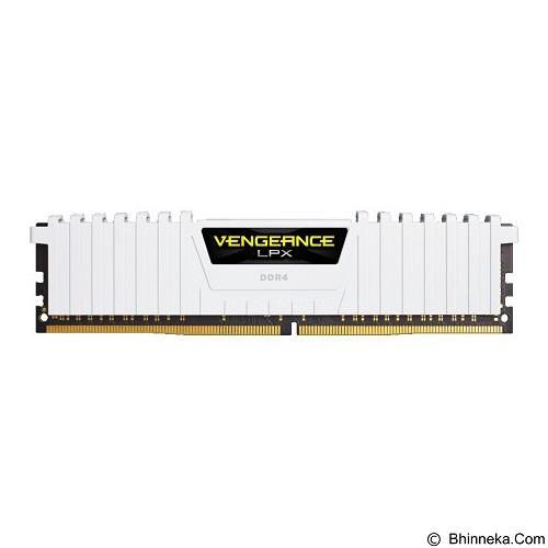 CORSAIR Memory PC 2 x 8GB DDR4 PC4-21300 [Vengeance LPX CMK16GX4M2A2666C16W] - White - Memory Desktop Ddr4