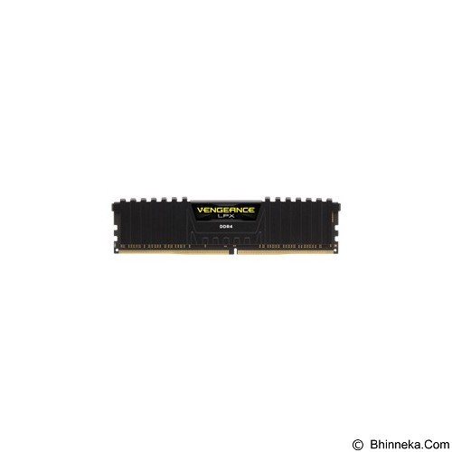 CORSAIR Memory PC 4GB DDR4 PC-19200 [Vengeance LPX CMK4GX4M1A2400C14] - Black - Memory Desktop Ddr4