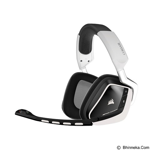 jual gaming headset corsair void wireless dolby 7 1 rgb gaming headset ca 9011145 ap white. Black Bedroom Furniture Sets. Home Design Ideas