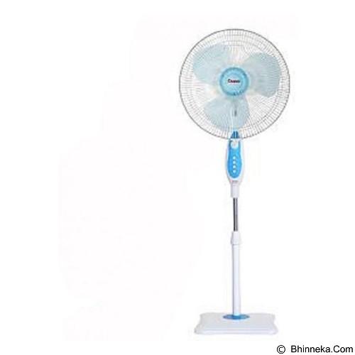 COSMOS Kipas Angin Berdiri 2 in 1 [16 SBI] - WhiteBlue (Merchant) - Kipas Angin Lantai