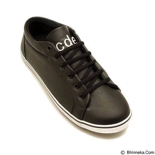 COUP D'ETAT Low Sneaker 92 Black with White Sole Size 37 [LOW01] - Sneakers Wanita