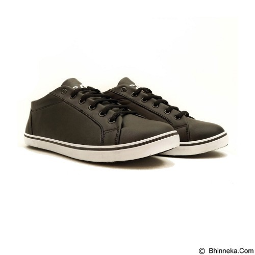 COUP D'ETAT Low Sneaker 92 Black with White Sole Size 37 [LOW01] - Sneakers Wanita