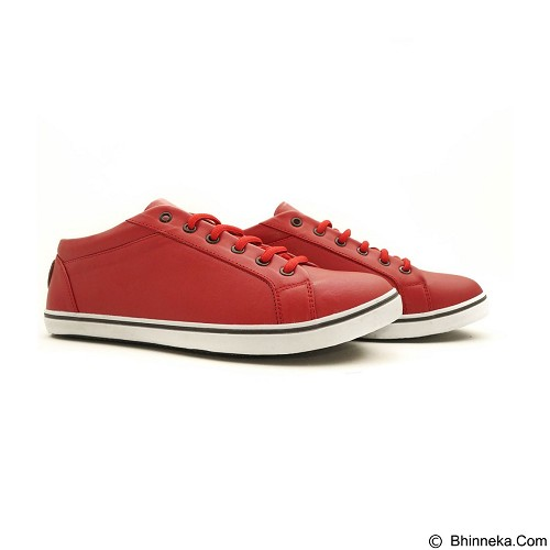 COUP D'ETAT Low Sneaker 92 Red with White Sole Size 36 [LOW02] - Sneakers Wanita