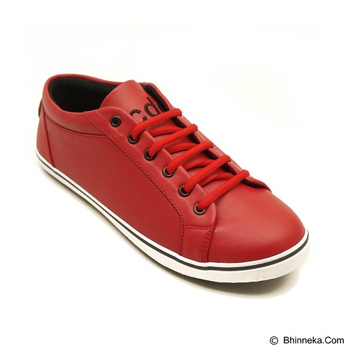 COUP D'ETAT Low Sneaker 92 Red with White Sole Size 41 [LOW02] - Sneakers Wanita