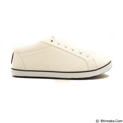 COUP D'ETAT Low Sneaker '92 Size 36 [LOW03] - White with White Sole - Sneakers Wanita