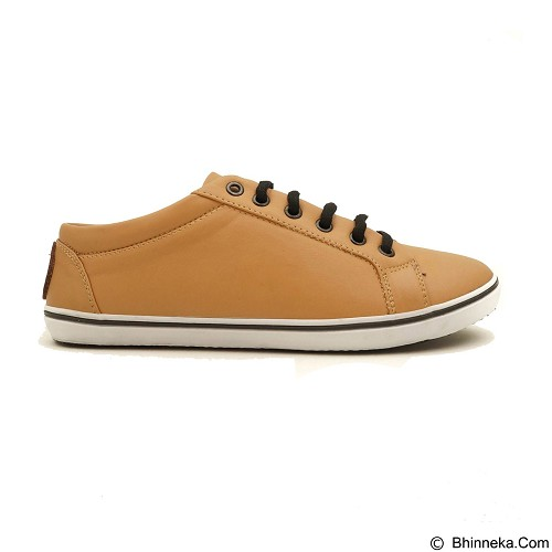 COUP D'ETAT Low Sneaker '92 Size 38 [LOW04] - Tan with White Sole - Sneakers Wanita