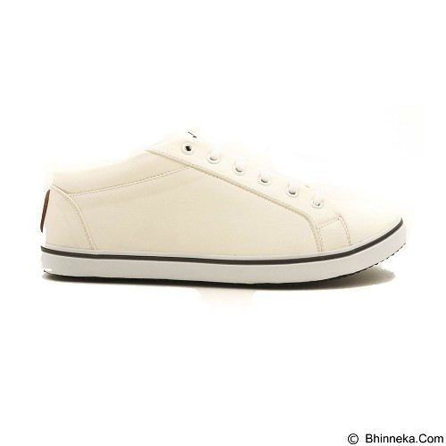 COUP D'ETAT Low Sneaker '92 Size 40 [LOW03] - White with White Sole - Sneakers Wanita