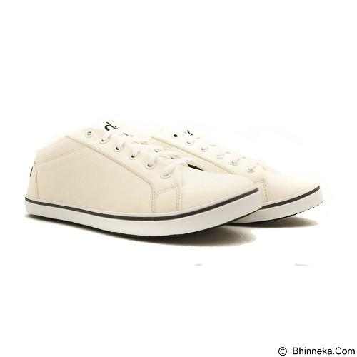 COUP D'ETAT Low Sneaker '92 Size 42 [LOW03] - White with White Sole - Sneakers Wanita