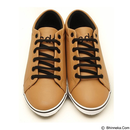 COUP D'ETAT Low Sneaker '92 Size 42 [LOW04] - Tan with White Sole - Sneakers Wanita