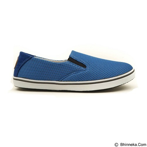 COUP D'ETAT Slip-on Classic Size 36 [SOW01] - Blue Mesh with White Sole - Loafer dan Slip On Wanita