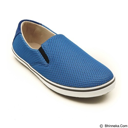 COUP D'ETAT Slip-on Classic Size 39 [SOW01] - Blue Mesh with White Sole - Loafer dan Slip On Wanita