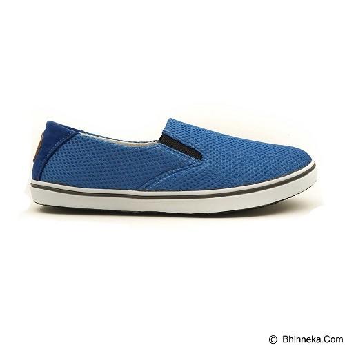 COUP D'ETAT Slip-on Classic Size 41 [SOW01] - Blue Mesh with White Sole - Loafer dan Slip On Wanita