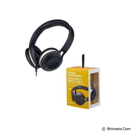 CRESYN Stereo Headphones C590H [CSNC590BK] - Black (Merchant) - Headphone Portable