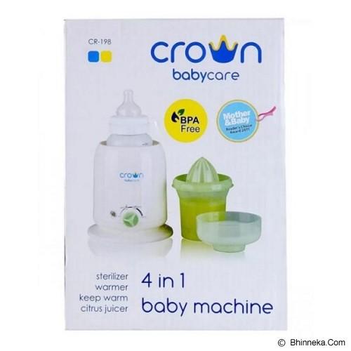CROWN 4 in 1 Baby Machine - White - Penghangat, Pengering, dan Sterilizer Botol Susu