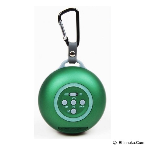 CSI HY-BT22 Speaker Bluetooth with Diaphragms [CSI-AUSK0AGR] - Green - Speaker Bluetooth & Wireless