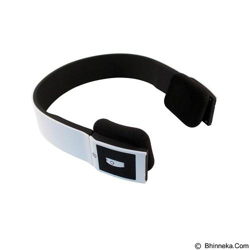 CSI Headphone Bluetooth Two Channel MP3 Music [BTH401] - White (Merchant) - Headset Bluetooth