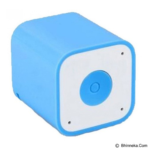 CSI Smart Box Speaker Bluetooth with Wireless Shuter - Blue (Merchant) - Speaker Portable