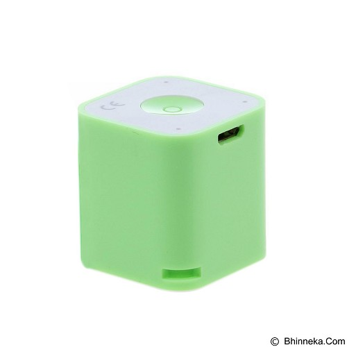 CSI Smart Box Speaker Bluetooth with Wireless Shuter - Green (Merchant) - Speaker Portable