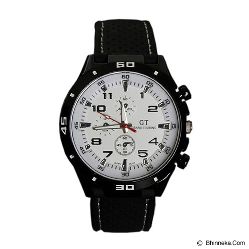 GRAND TOURING Sport Men For Men [GT04] - Dial Black Number - Jam Tangan Pria Fashion