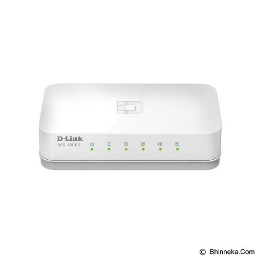 D-LINK DES-1005C (Merchant) - Switch Unmanaged