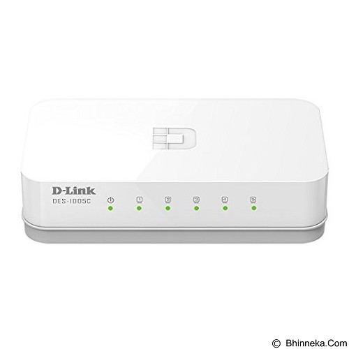 D-LINK DES-1005C - Switch Unmanaged