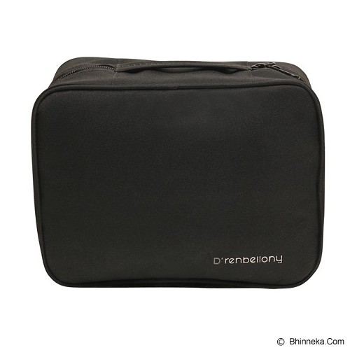 D'RENBELLONY Cosmetic Bag Organizer - Black - Tas Kosmetik / Make Up Bag