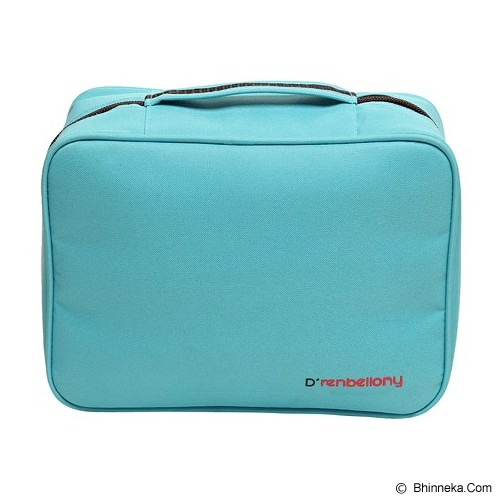 D'RENBELLONY Cosmetic Bag Organizer - Blue - Tas Kosmetik / Make Up Bag