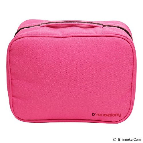 D'RENBELLONY Cosmetic Bag Organizer - Magenta - Tas Kosmetik / Make Up Bag