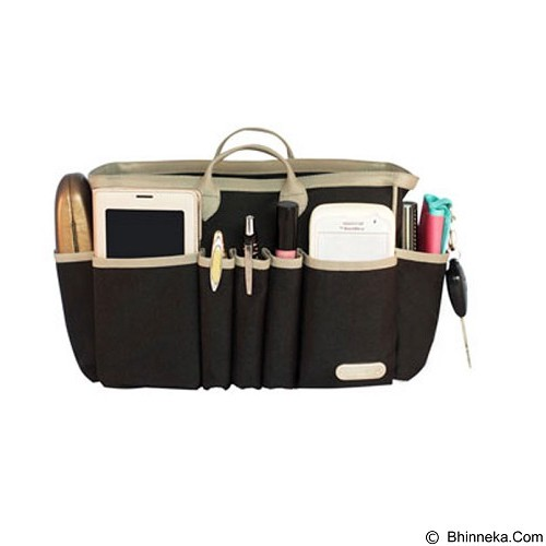 D'RENBELLONY HandBag Organizer Light Medium - Black - Tas Tangan Wanita
