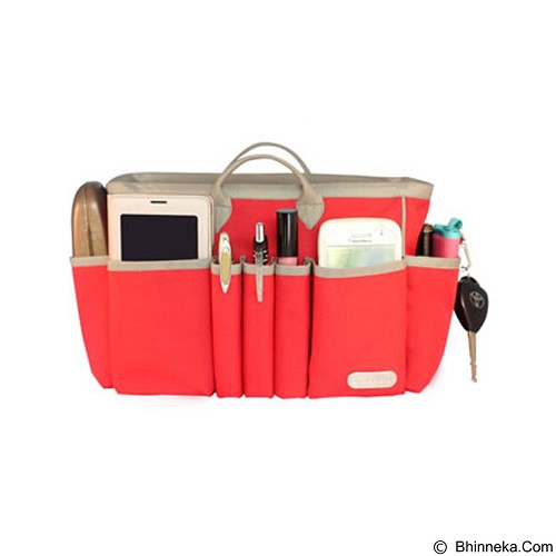 D'RENBELLONY Handbag Organizer Light Medium [HBO Light M] - Red - Tas Tangan Wanita