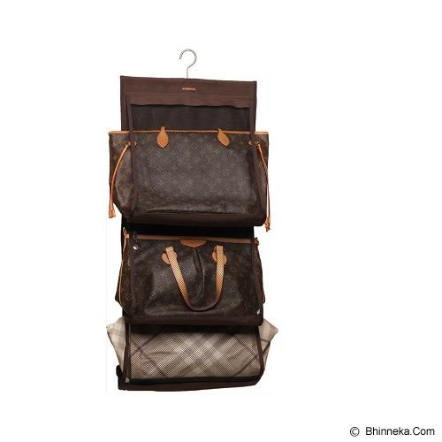 D'RENBELLONY Hanging Bag Keeper - Brown - Rak Tas