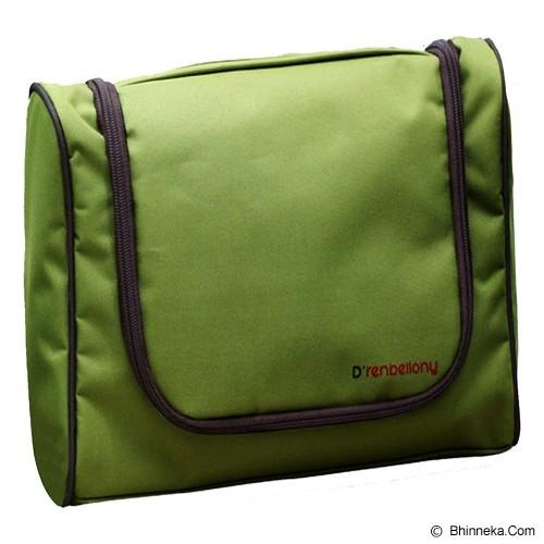 D'RENBELLONY Toiletries Bag Organizer - Green - Travel Bag