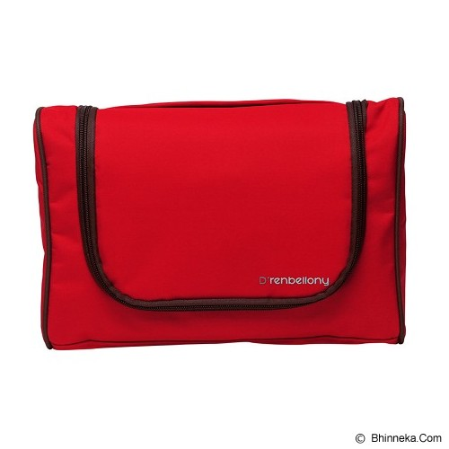 D'RENBELLONY Toiletries Bag Organizer - Red - Travel Bag