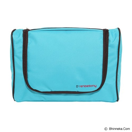 D'RENBELLONY Toiletries Bag Organizer - Turqoise Blue - Travel Bag