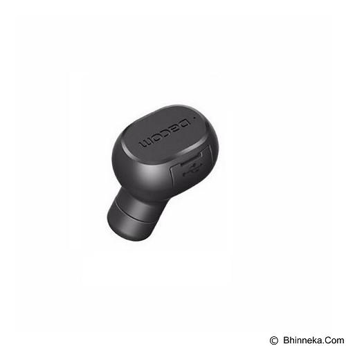 DACOM Mini Bluetooth Earphone Wireless Music Handsfree [K007] - Black (Merchant) - Headset Bluetooth