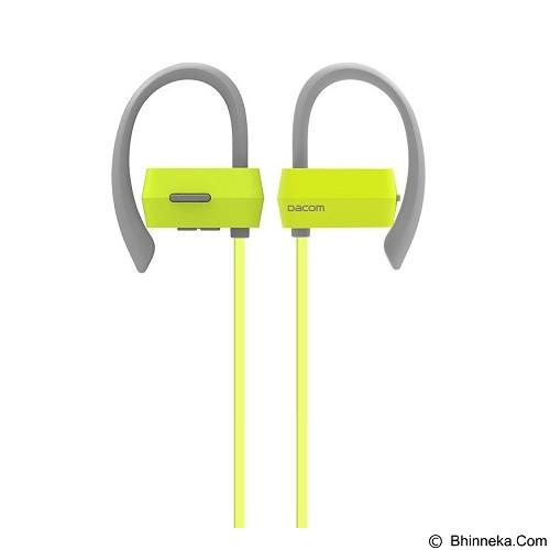 DACOM Sport Running Ear Hook IPX4 Anti Sweat Wireless [G18] - Green (Merchant) - Headset Bluetooth