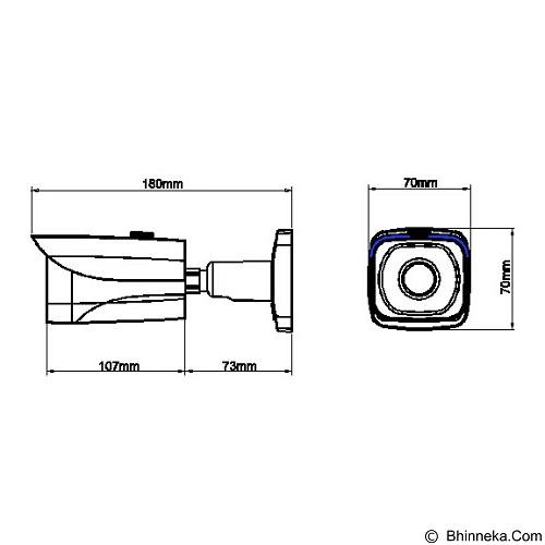 DAHUA CCTV HDCVI [HAC-HFW2220E] - Cctv Camera