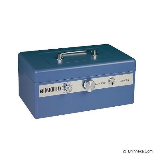DAICHIBAN Cashbox [CB-35] - Blue (Merchant) - Cash Box