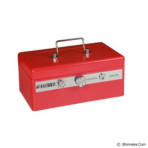 DAICHIBAN Cashbox [CB-35] - Red (Merchant) - Cash Box