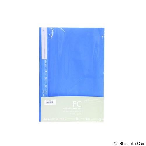 DAIICHI Business File 6 Pcs [940H Fc] - Blue - Map Plastik